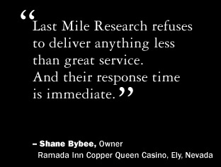 Shane Bybee, Owner, Ramada Inn Copper Queen Casino, Ely, Nevada